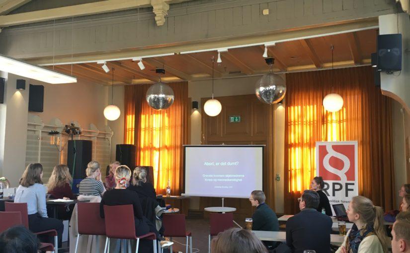 Årsmøtet 2019 og foredrag om abort